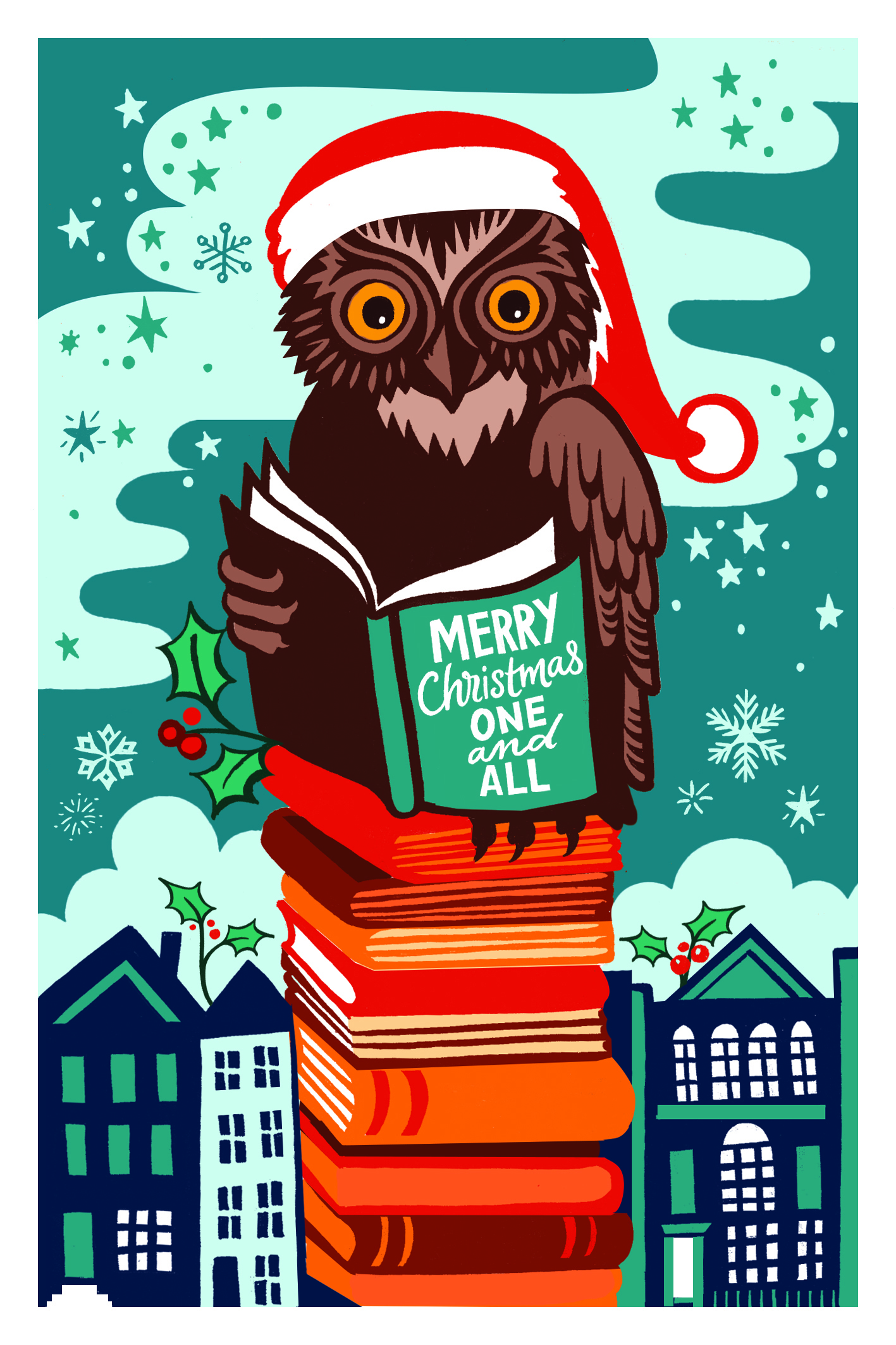 LONDON LIBRARY CHRISTMAS CARDS NOW ON SALE!